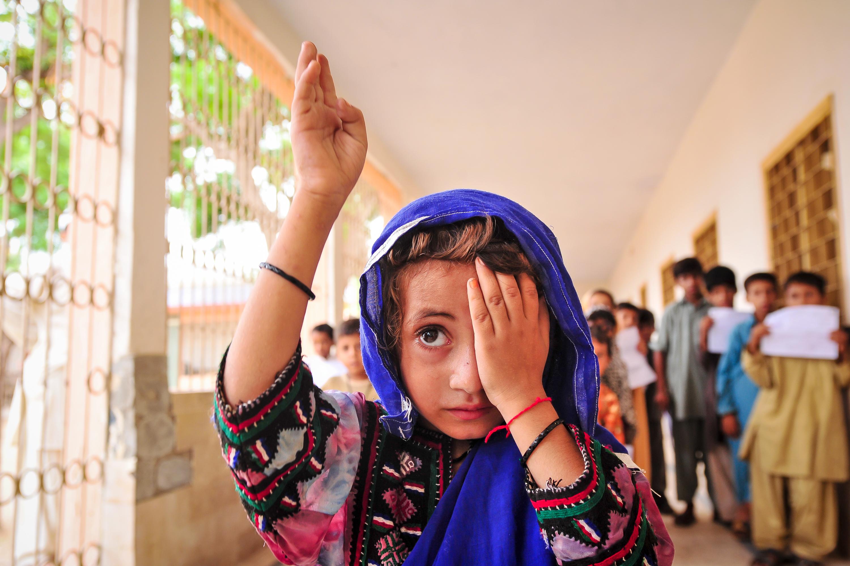 Visual health is linked to school achievement. PAKISTAN