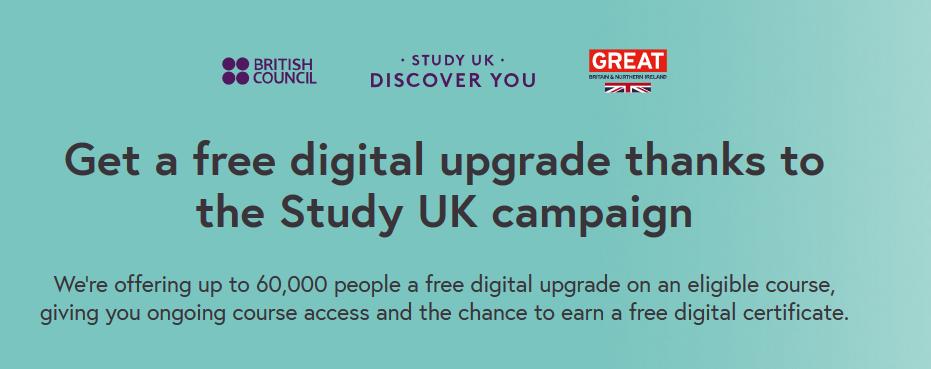 British Council Free Upgrades