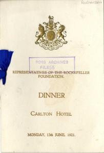 Rockefeller Foundation Dinner