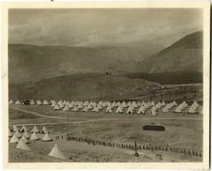 Army Camp, Itea, Greece, 1917