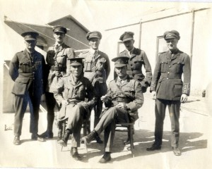 Ross and colleagues in Alexandria, 1915