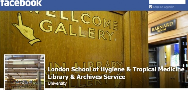 LSHTM_Library and Archives Facebook page