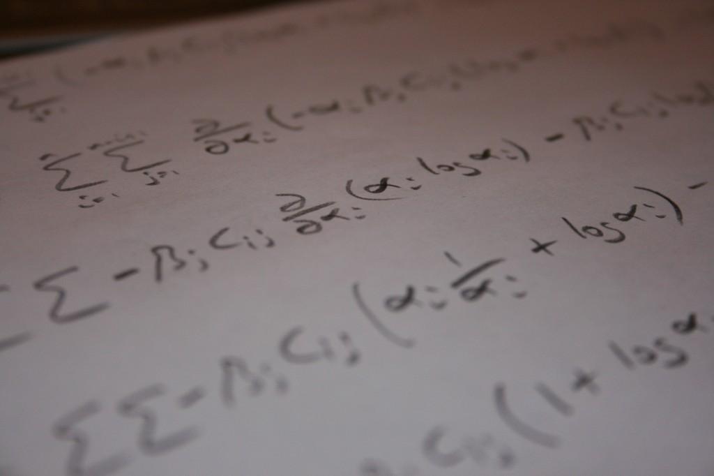 Mathematics photo by Robert Scarth on Flickr
