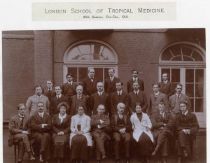 Staff and students October 1914