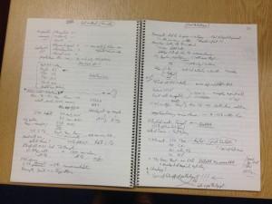 Bradley Notebook]