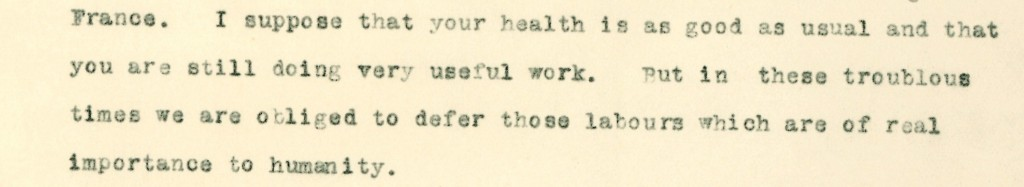 The sad duty of a doctor in wartime