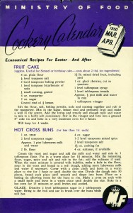 Easter recipe leaflet