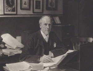NPG x12710; Karl Pearson by Unknown photographer