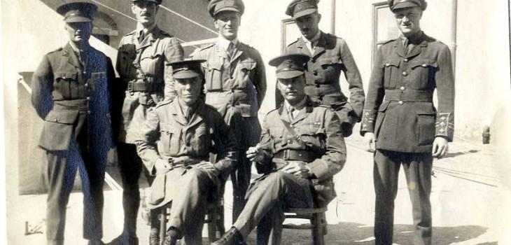 Ross in Alexandria, 1915