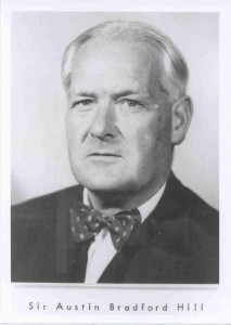 Professor Sir Austin Bradford Hill, Professor of Medical Statistics (1945-1961), Dean of LSHTM (1955-1957)