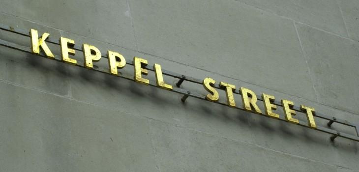 Lettering-Keppel Street