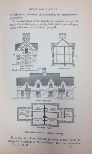 PLAN FOR A COTTAGE