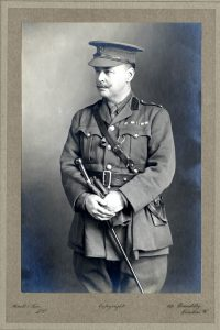 Sir Ronald Ross his military uniform