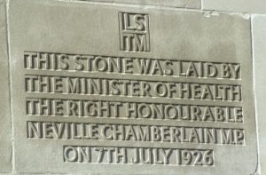 Foundation stone of the Keppel Street building[2197]