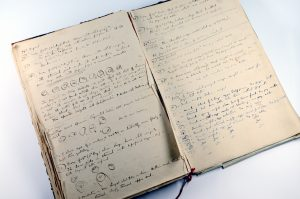 Sir Ronald Ross' notebook from the Ross Collection, part of LSHTM Archives
