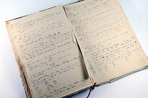 Ross's 1897 notebook