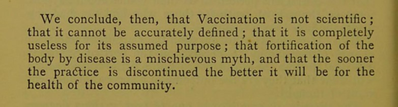 Vaccination. A reply to the question is vaccination scientific? / by George S. Gibbs