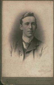 Professor Robert Leiper as a young man