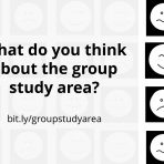 What do you think of the group study area?