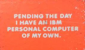 IBM Sticker